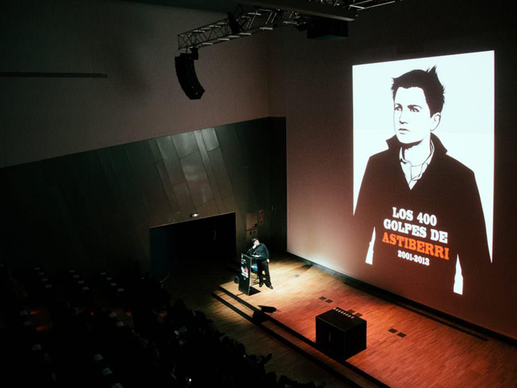 Presentación de Astiberri en los Premios Gràffica 2013