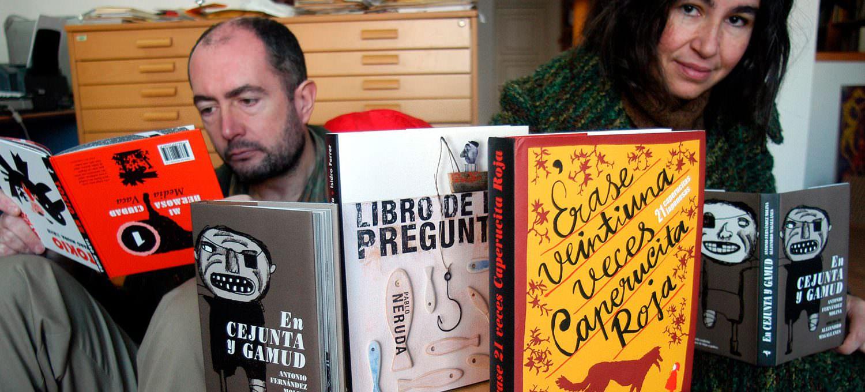 Vicente Ferrer y Begoña Lobo, editores de Media Vaca