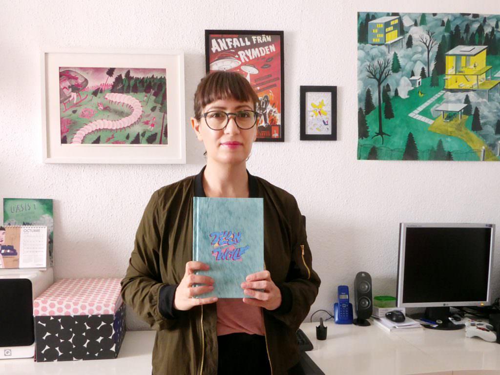 Ana Galvañ, autora de cómics e ilustradora todoterreno