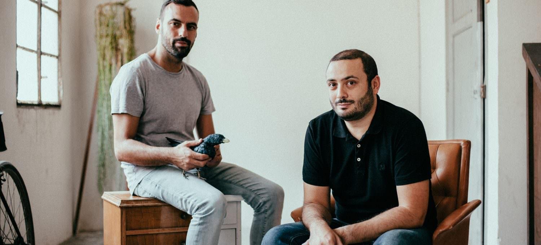 David D'Eboli y Raúl Ramos, directores de Blanc Festival