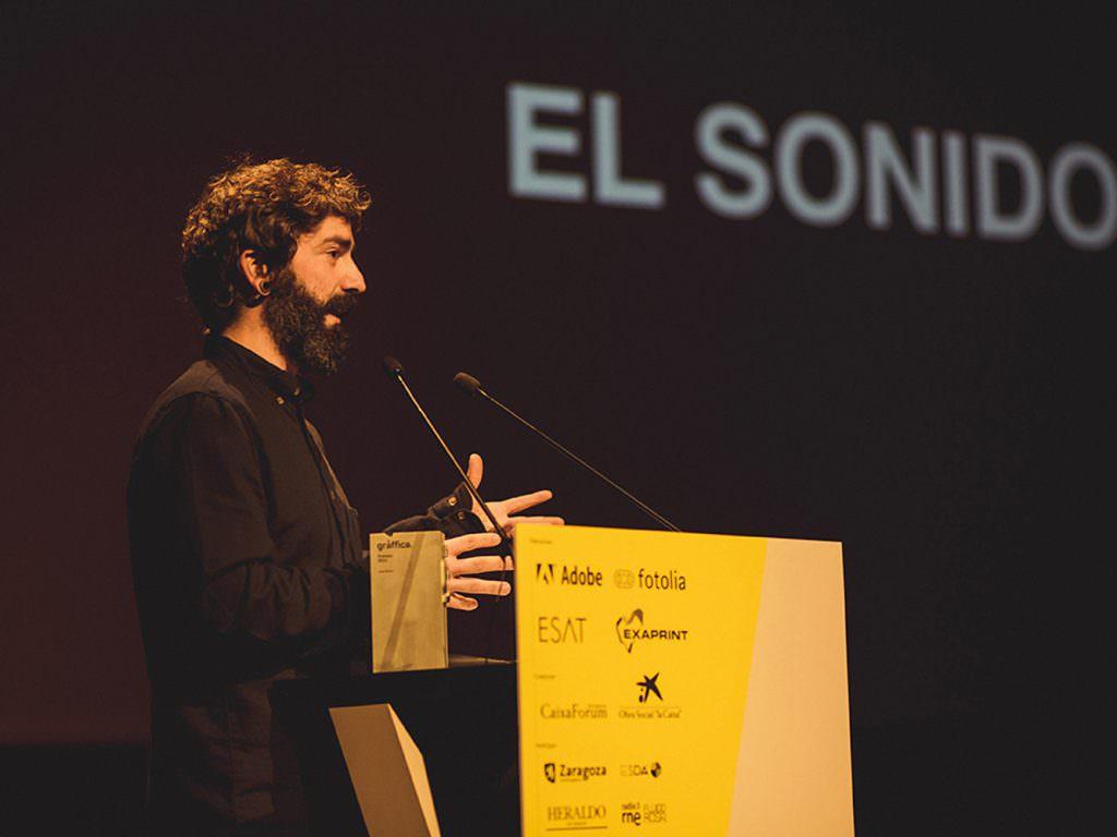 Juan Rayos Premio Gràffica 2015