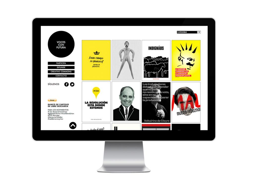 Voces con Futura, Premio Gràffica 2012