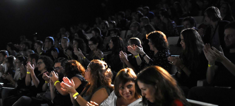 Público en los Premios Gràffica 2016
