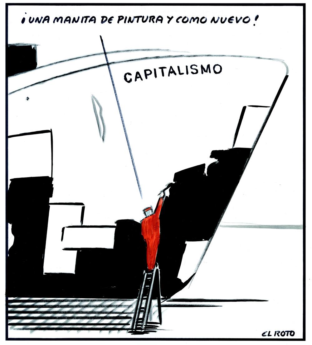 El Roto, capitalismo