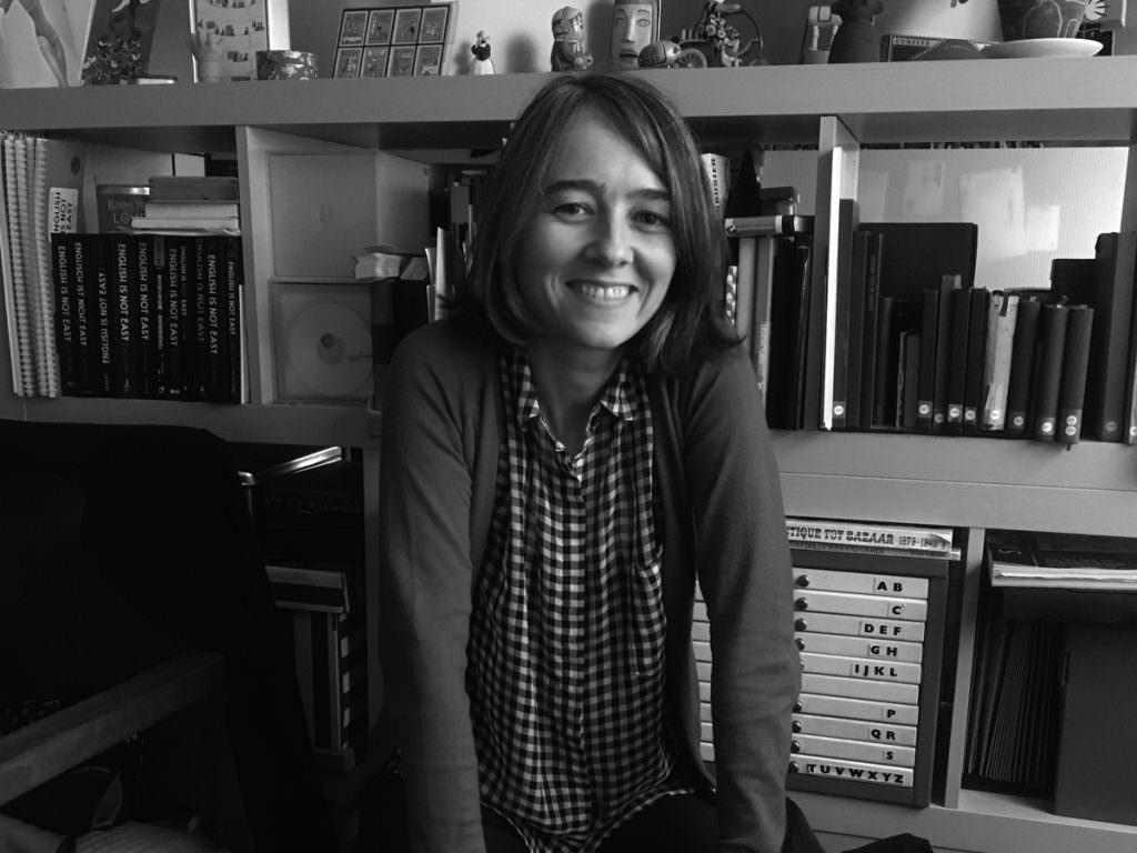 Foto retrato de Luci Gutiérrez, ilustradora ganadora de un Premio Gràffica 2017