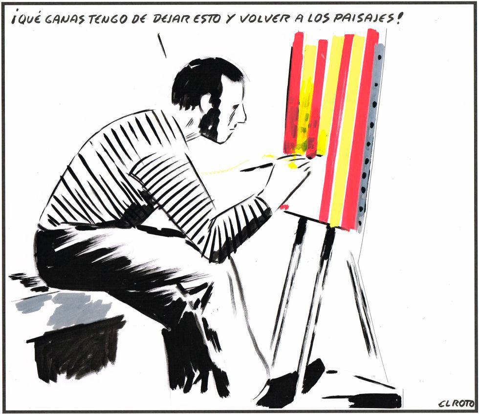 El Roto, nacionalismo catalán