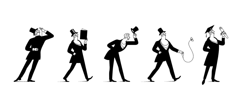 Luci Gutiérrez, ilustraciones elegantes e inteligentes que recrean el mundo civilizado en el que nos gustaría vivir
