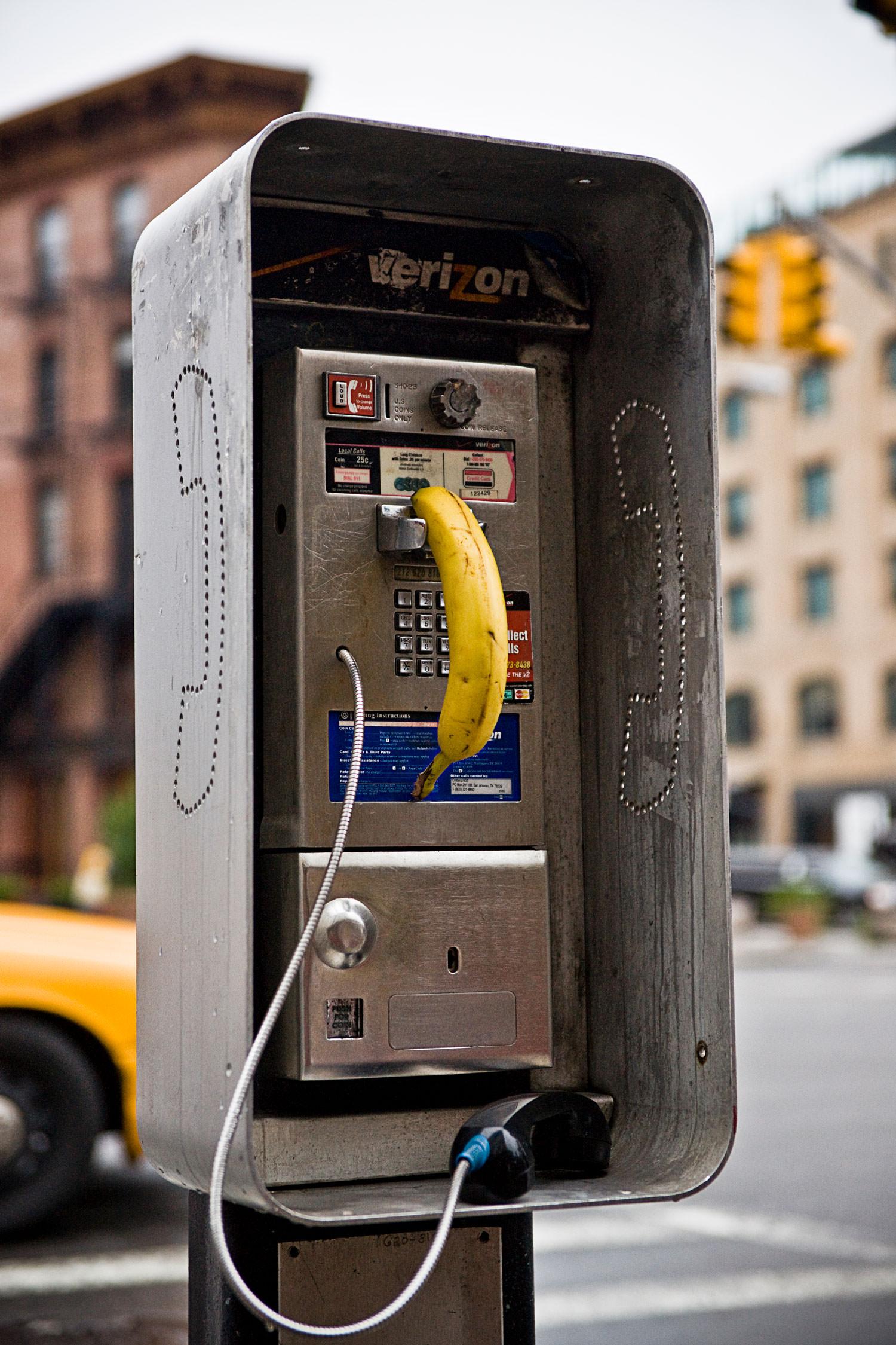 SPY – Banana - NYC 2008