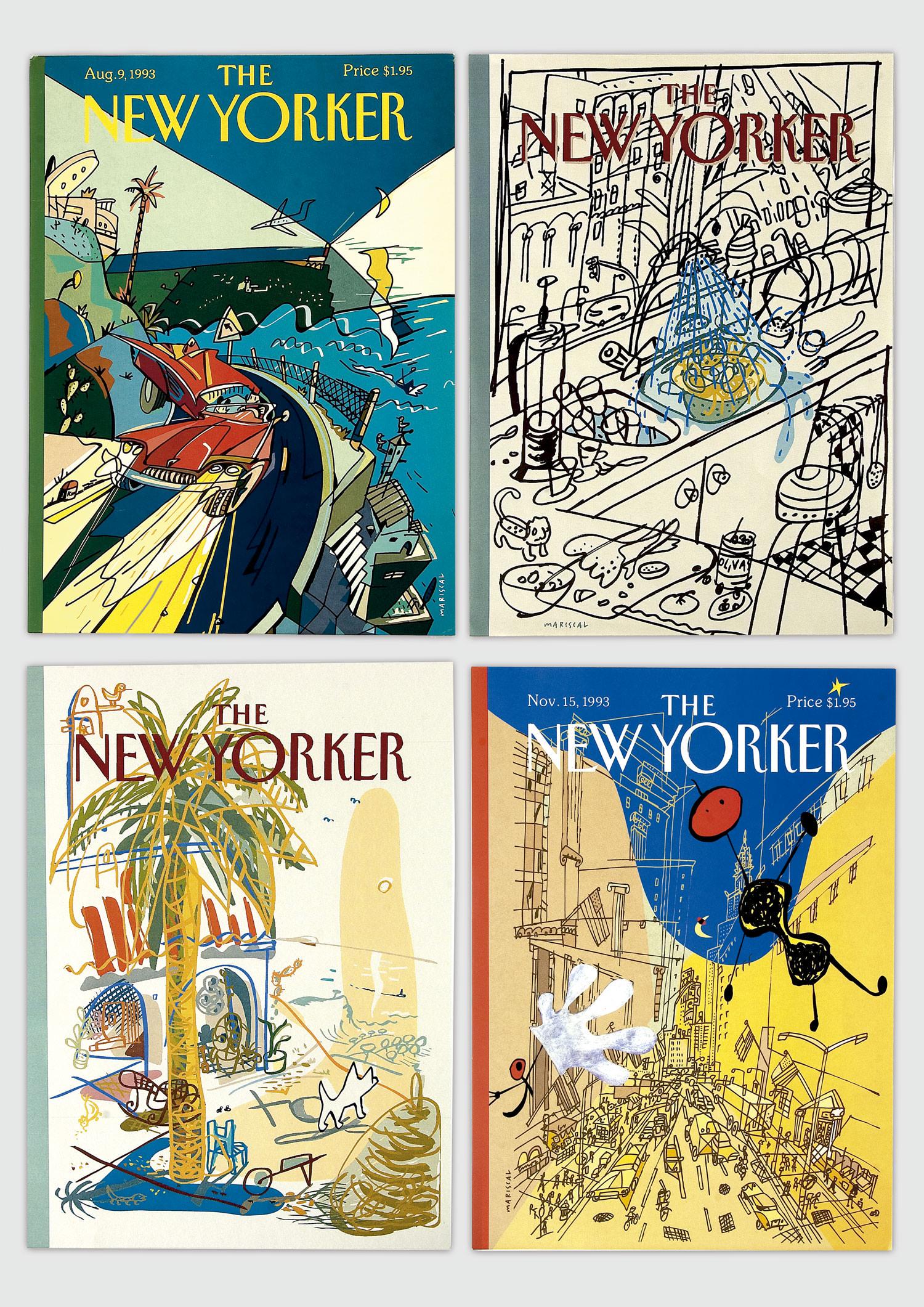Javier Mariscal – New Yorker
