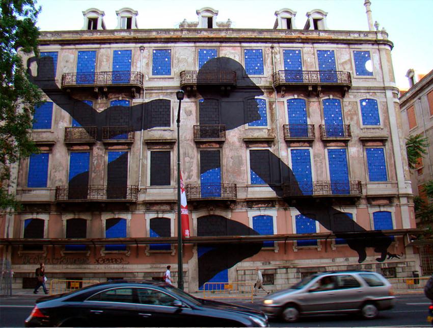 Premio Gràffica 2012 SAM3 es un activista de la cultura urbana.