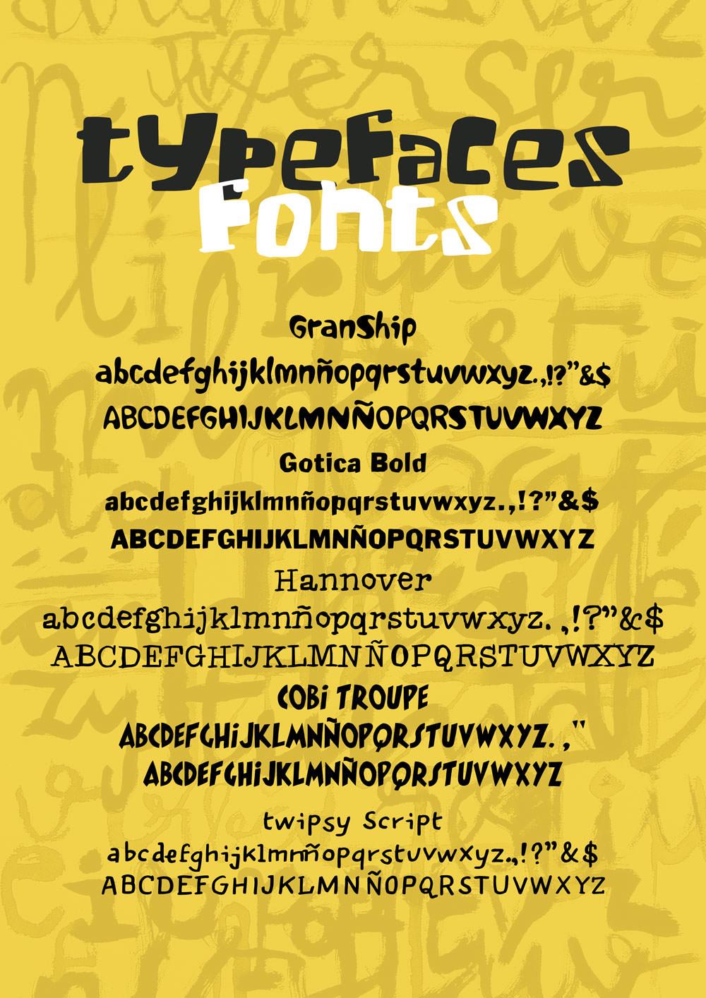 Javier Mariscal – tipografía