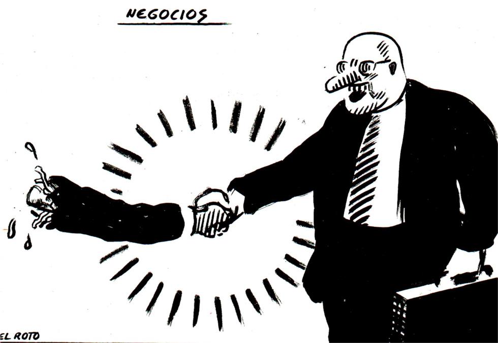 El Roto, crisis y negocis