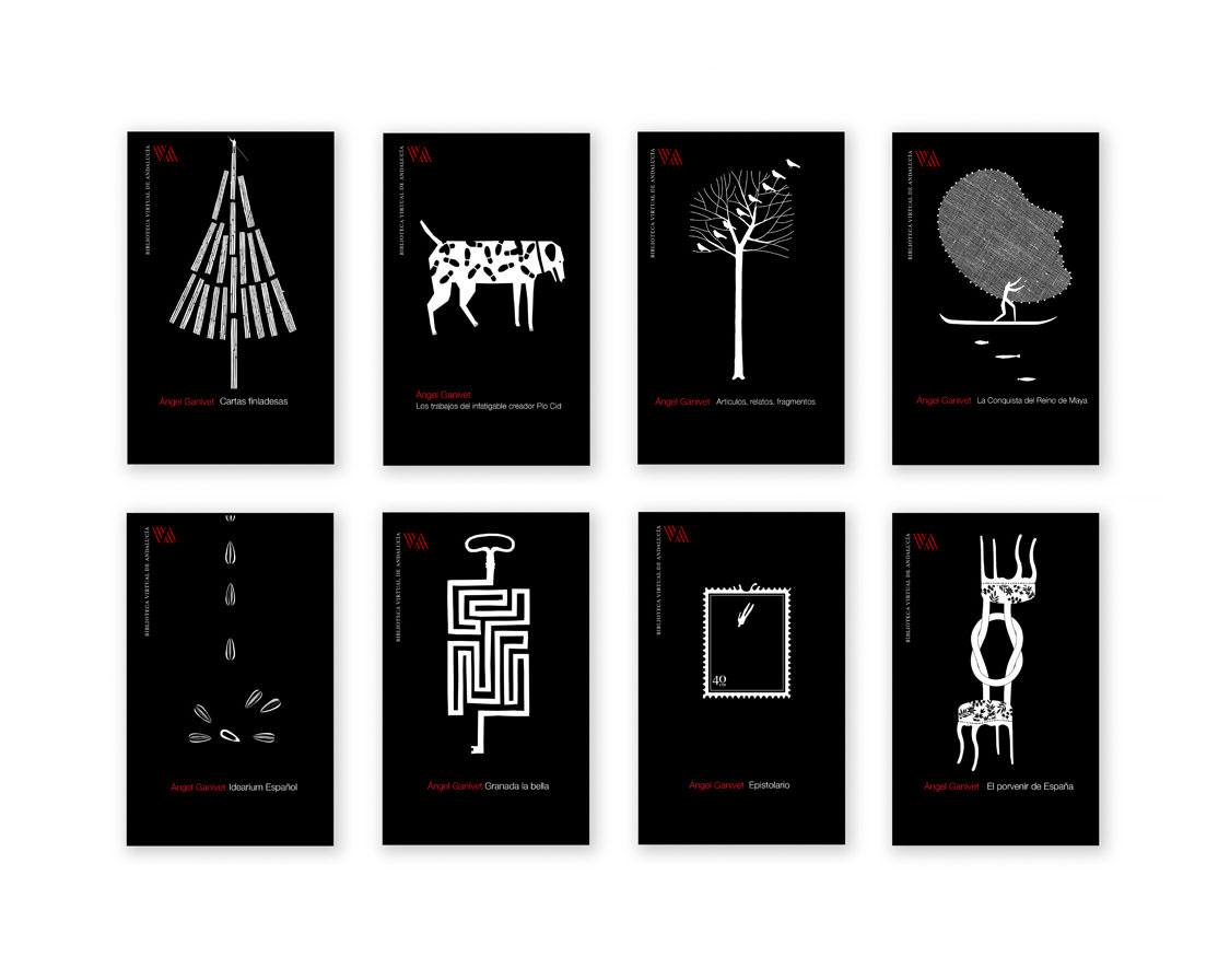 ilustración portadas de libros Pablo Amargo
