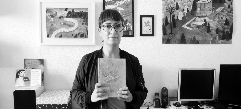 Ana Galvañ es una autora de cómics e ilustradora murciana