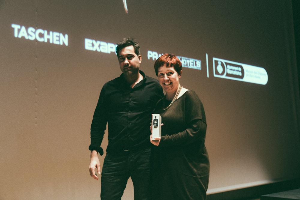 Premios Gràffica 2013 - Clara Montagut y Eduardo Manso