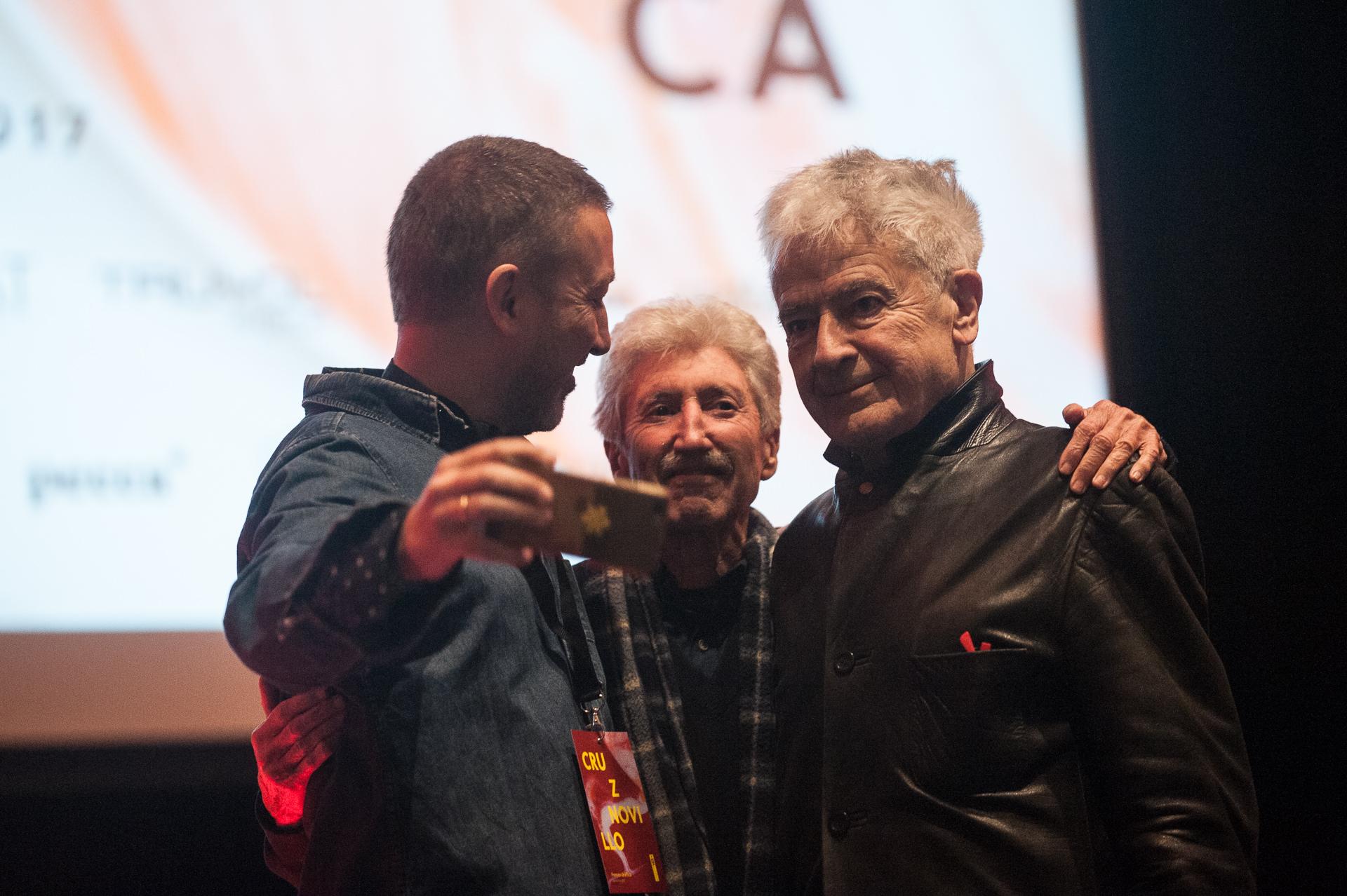 Pepe Cruz, José Ramón Sanchez y José María Cruz Novillo