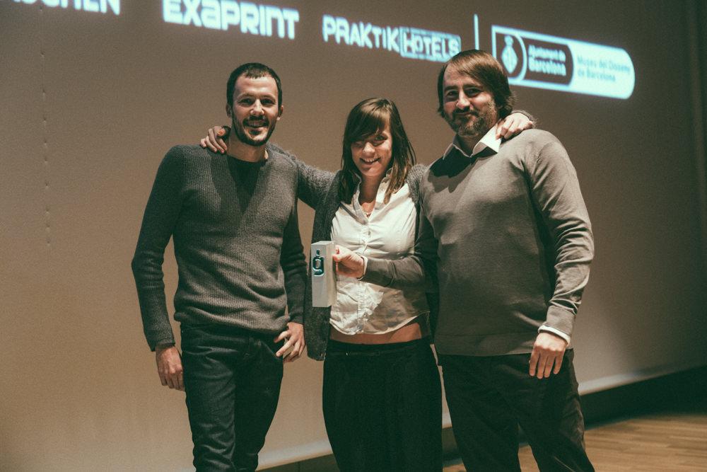 Marta Cerdà y Atipo - Premios Gràffica 2013
