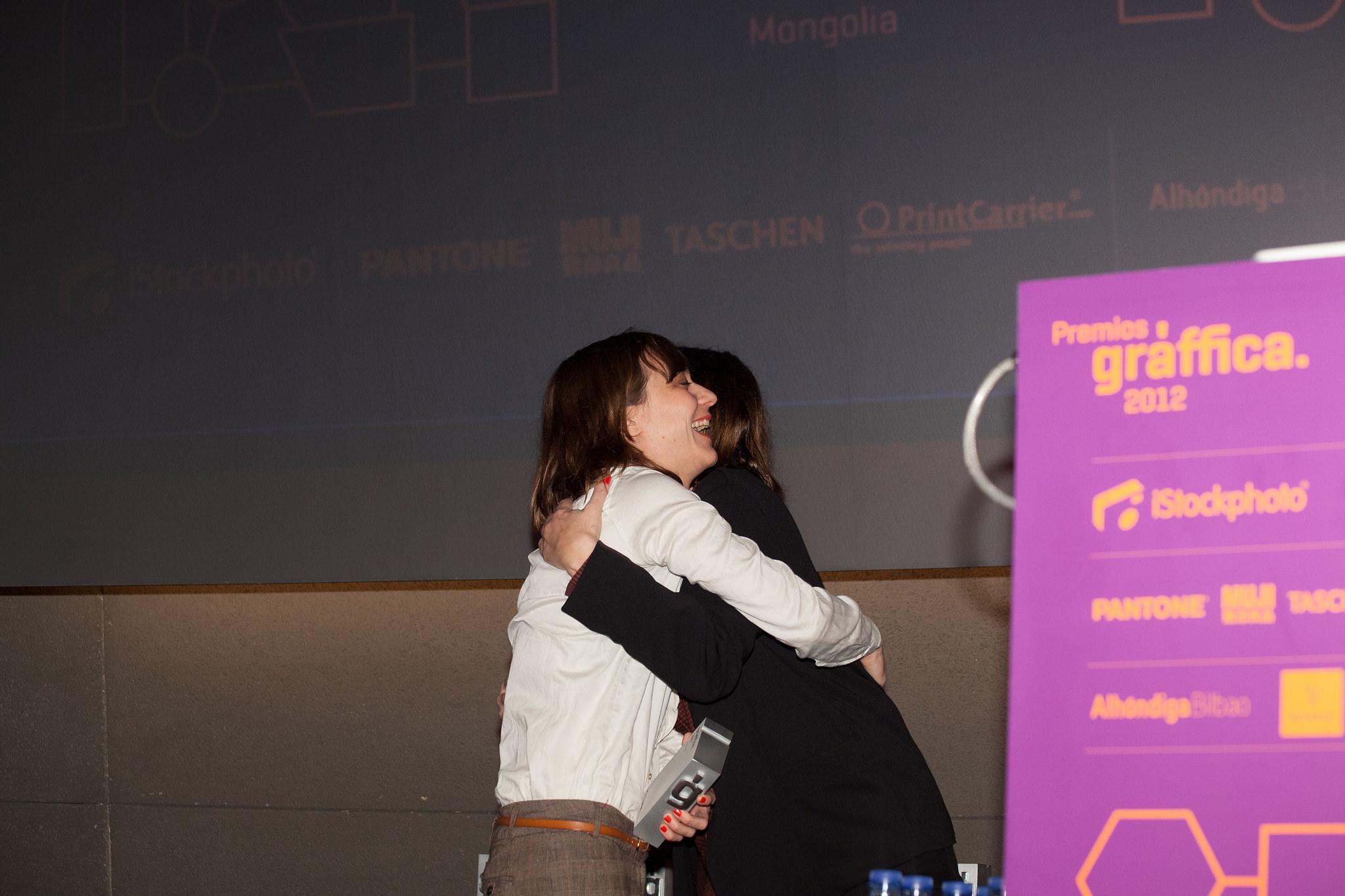 Marta Cerdà - Premios Gràffica 2012 Bilbao