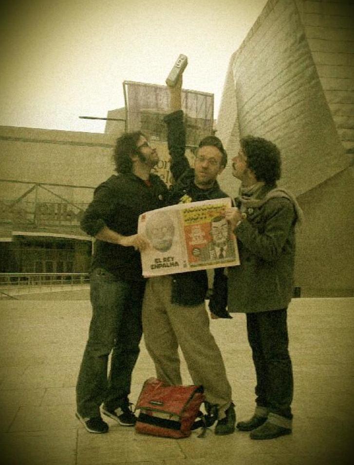 Mongolia con el trofeo en Bilbao