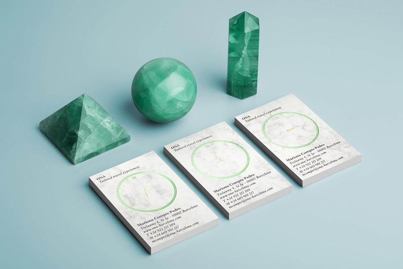 Mucho Design - tarjetas de visita - Ona