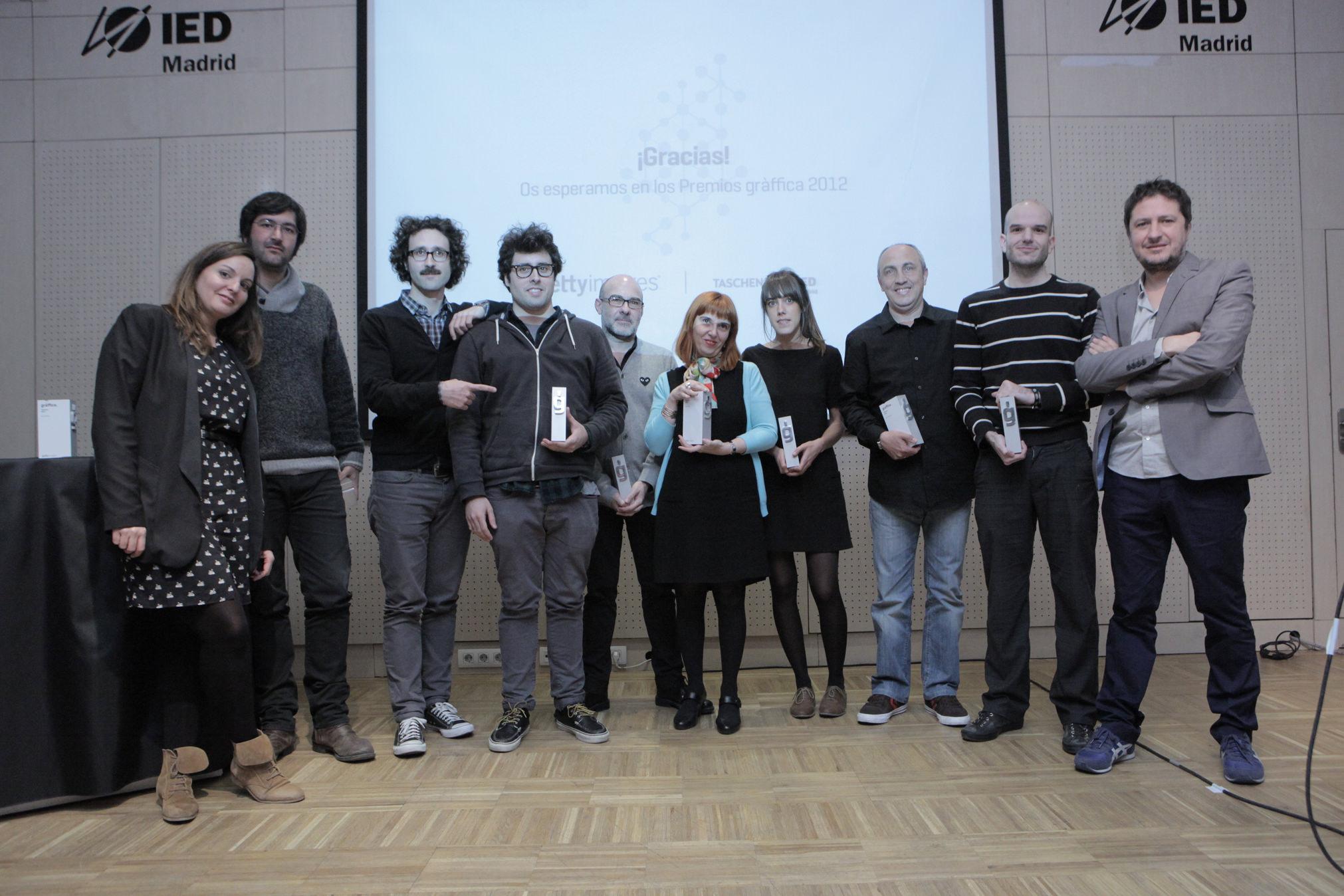 10 Premiados - Premios Gràffica 2011 IED Madrid