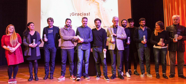 Los 10 Premios Gràffica 2017 sobre el escenario