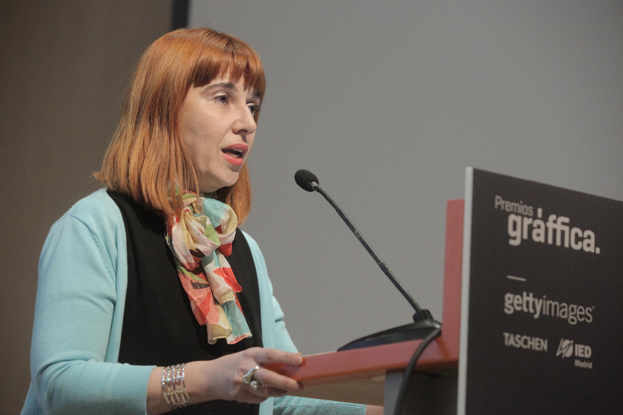 Raquel Pelta - Premios Gràffica 2011