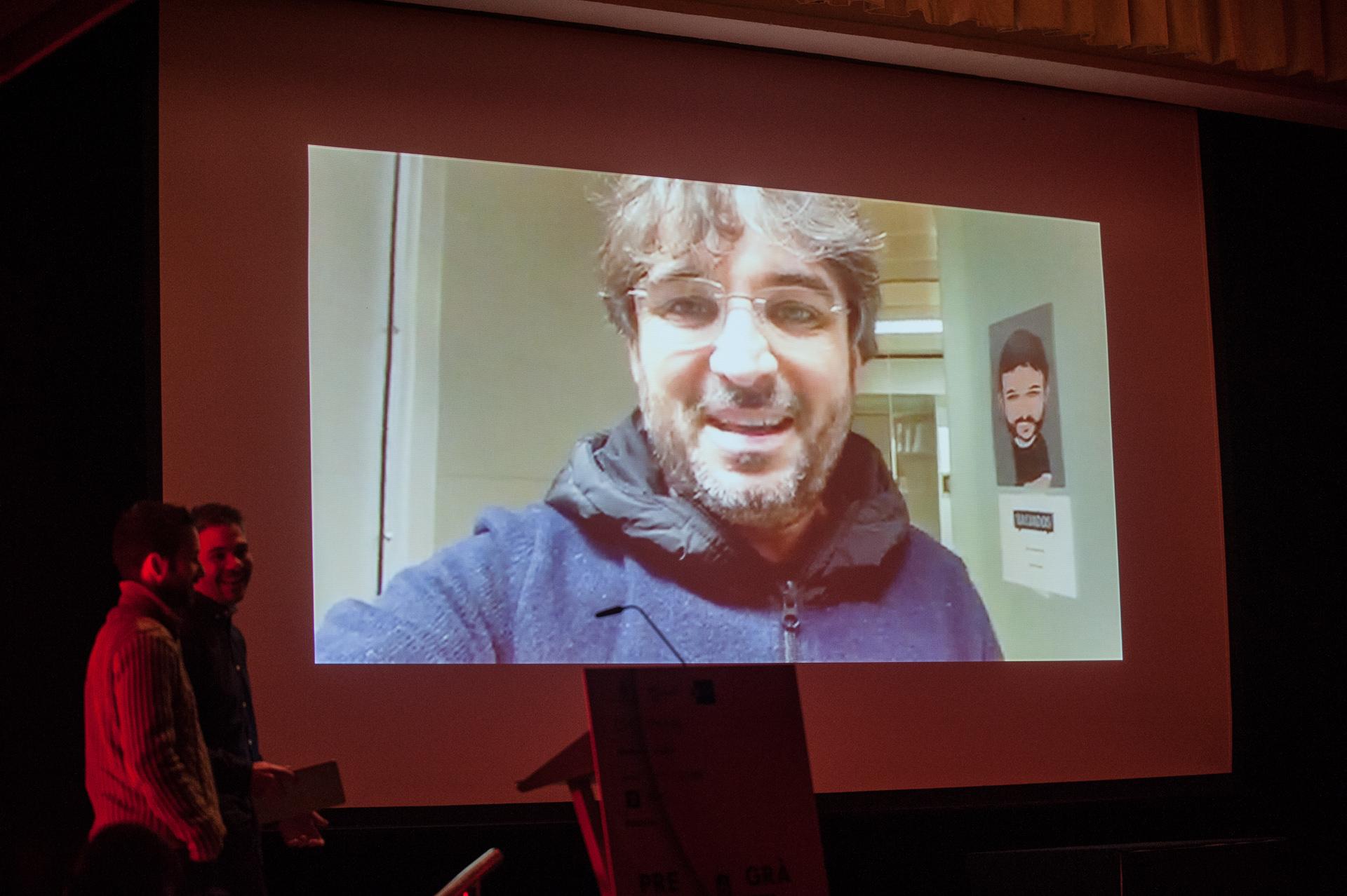 Vídeo de agradecimiento de Jordi Évole