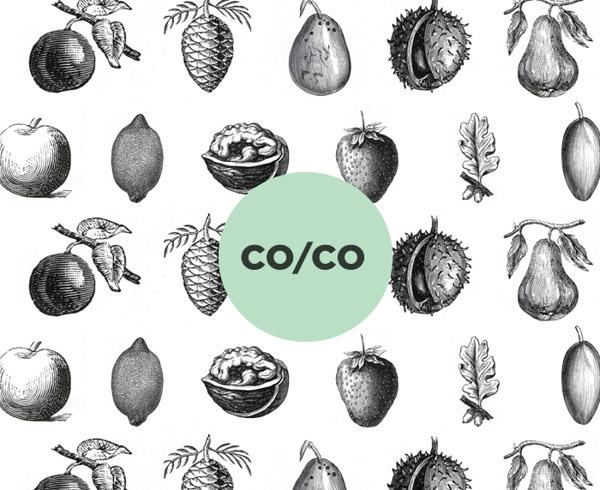 Co-Co, identidad gráfica de Tatabi Estudio