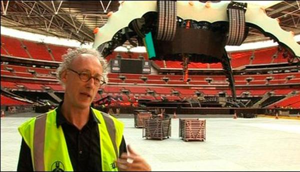 Mark Fisher, diseñador de escenarios
