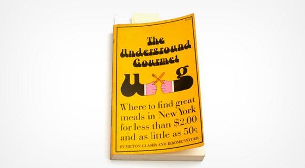 Milton Glaser, Underground gourmet guide