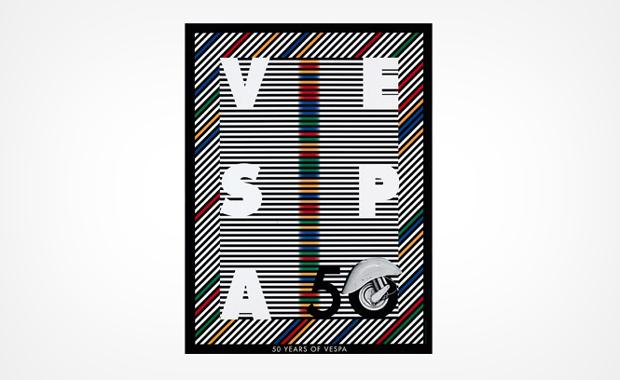 Milton Glaser, Vespa 50 aniversary