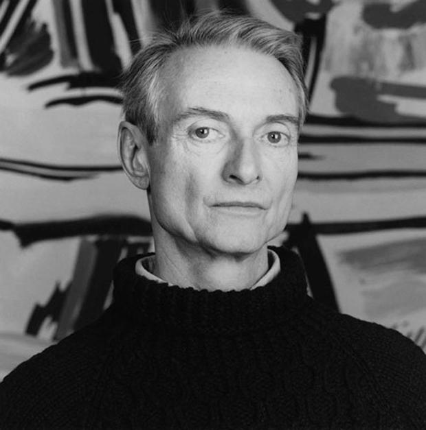 Roy Lichtenstein. fotografía retrato