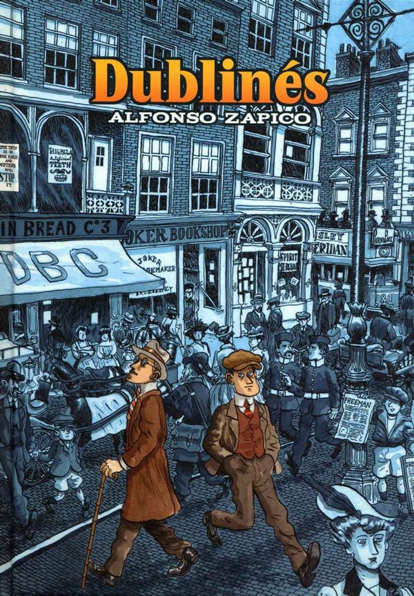 Lecturas de verano, Dublinés de Alfonso Zapico