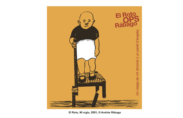 OPS / El Roto / Rábago, dibujo