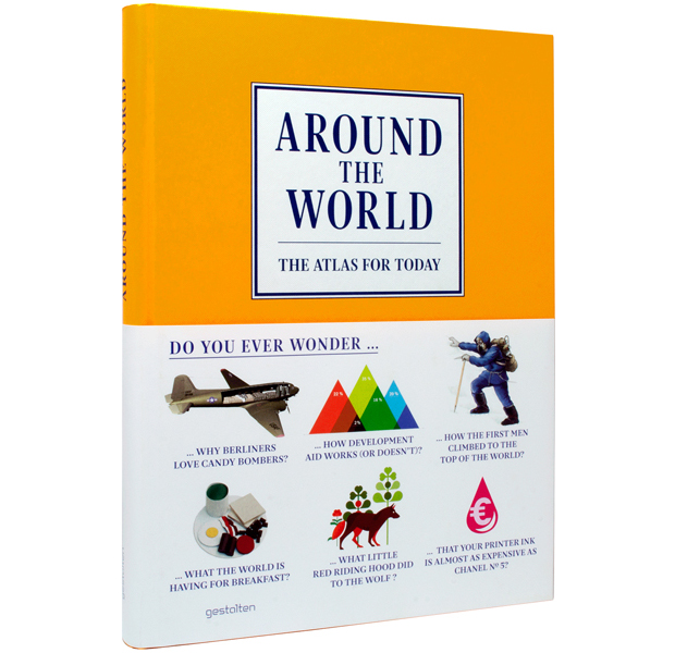 Around the World, atlas infográfico