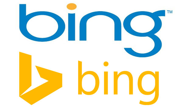 Bing, comparación logo antiguo y nuevo
