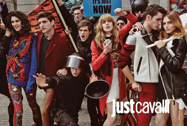 Cavalli, campaña polémica inspirada en el 15M