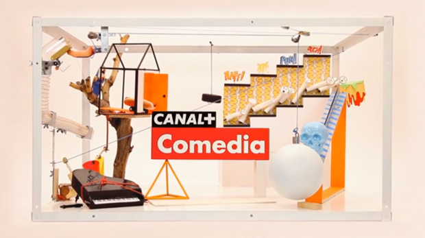 Cómodo Screen, idents para Canal+ Comedia