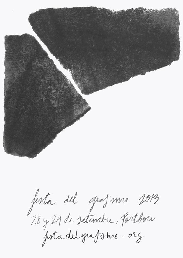 Festa del Grafisme 2013, logo
