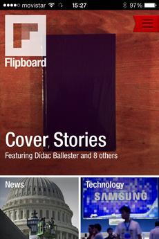 revistas para tabletas - agregador noticias Flipboard