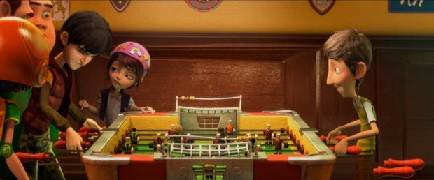 Futbolin, fotograma del filme de Juan José Campanella