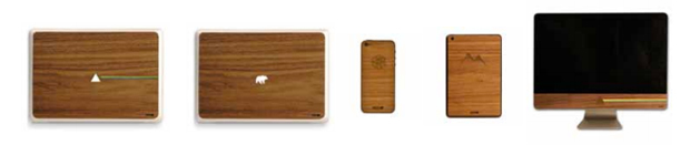 IUBUD, fundas de madera para dispositivos Apple