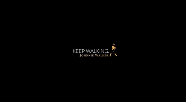 Johnnie Walker, keep walking