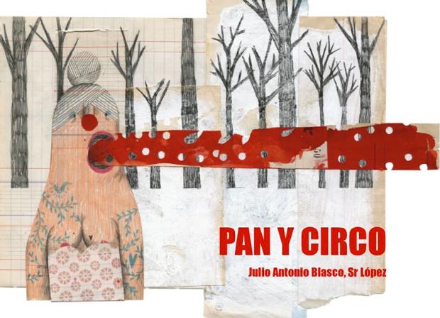 Julio Antonio Blasco, Sr. López – ilustración 'Pan y Circo'