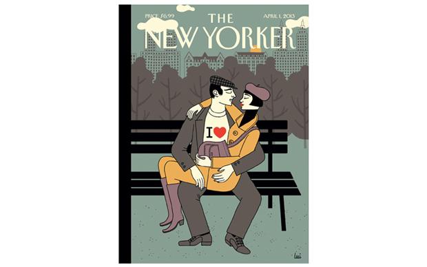 Luci Gutiérrez, Newyorker, cover, Ilove