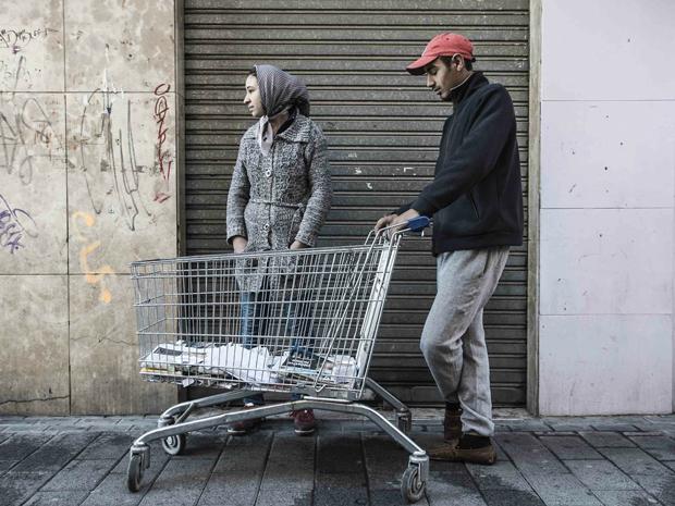 Manuel Zamora, pareja en la serie Vidas recicladas