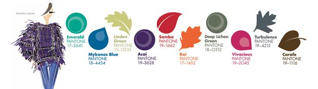 Top ten colores Pantone otoño-invierno 2013