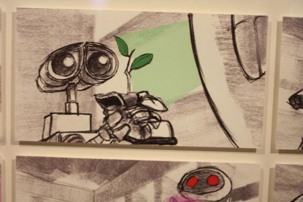 Pixar, storyboard Walle