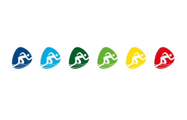 Pictogramas oficiales versión colores de los Juegos Olímpicos de Río 2016